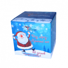 Батарея салютов Дед Мороз Красный нос